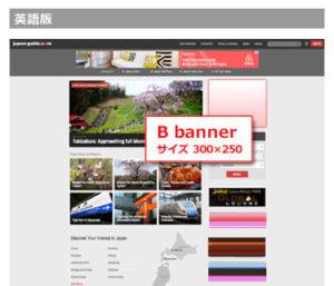 動画広告は従来の「バナー B枠」に表示され、アクセスして最初に見られます
