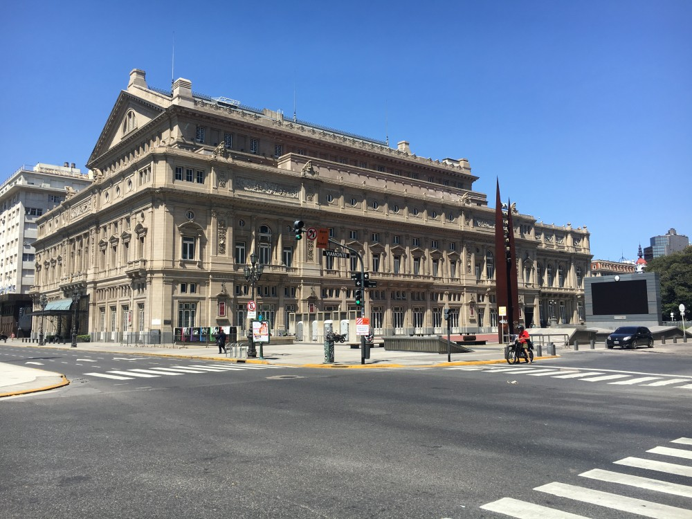 世界三大劇場のひとつ、コロン劇場