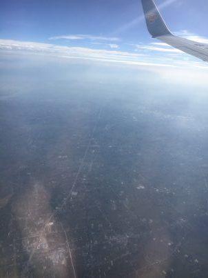 空から中原を見る