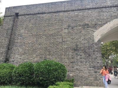 開封旧市街を囲う城壁